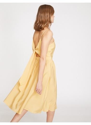 Koton Koton Sarı Elbise Sarı